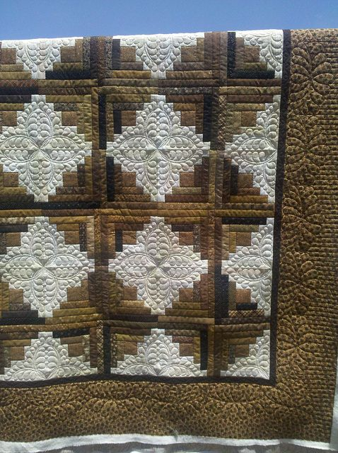 .Love the quilting on this!