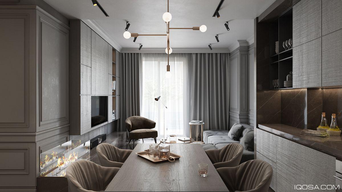 Modern Classic In Albania On Behance Serye Interery Dizajn