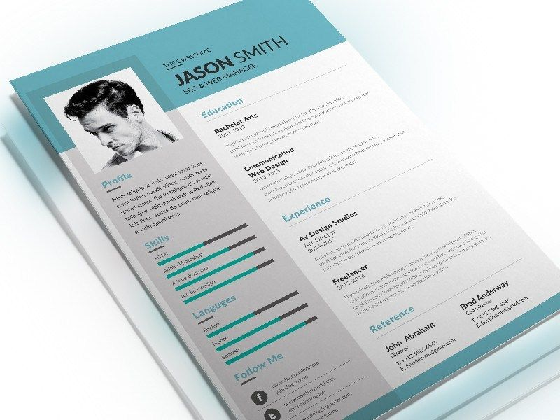 Free Resume Template For Seo Specialist Resume Template Resume Template Free Resume Design Template