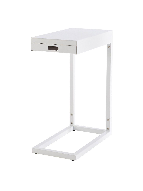 demeyere clever 497949 sofa side table metal white amazon co uk rh pinterest co uk Slide Under Sofa Side Table sofa side tables uk only