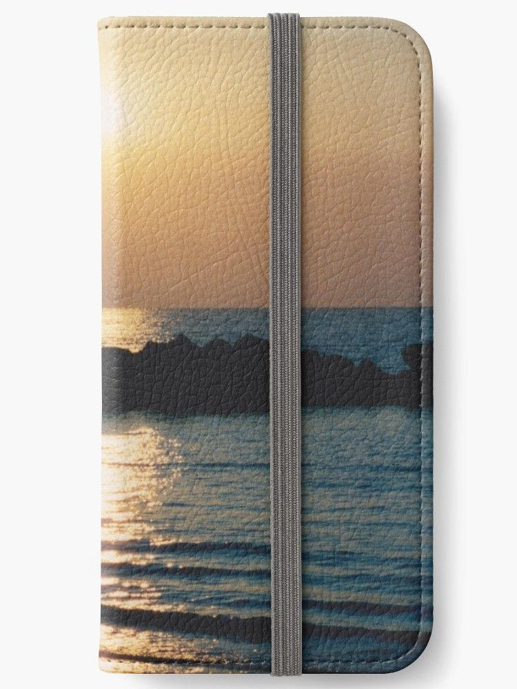 newest collection 47a73 12c4d Sunset Ocean Bliss #6 #nature #art | iPhone Wallet | Our Redbubble ...