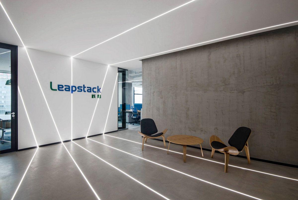 Leapstack Offices Shanghai Office Snapshots Lobby Design Office Lobby Design Office Interior Design