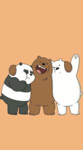 خلفيات الدببه الثلاثة 2020 افضل رمزيات وصور كرتونية جميلة وكيوت للأطفال والكبار Bear Wallpaper We Bare Bears Wallpapers Bare Bears
