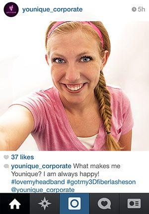 Younique is having a Photo contest. Want to be FAMOUS?  Uplift. Empower. Motivate.