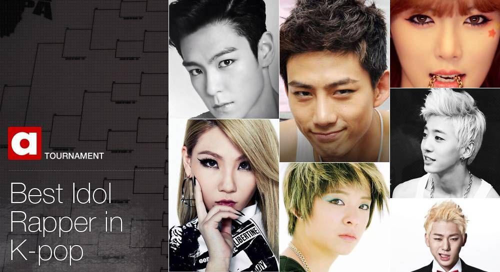 Winner Hyomin Tournament Best Idol Rapper In K Pop Rapper Kpop Tournaments