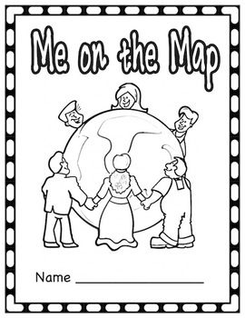 Me on the Map Student Book (All 50 states included