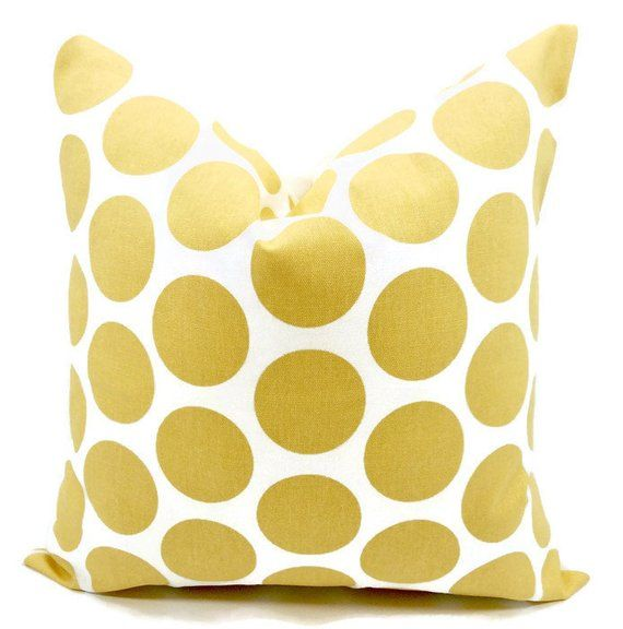 Yellow Saffron Pillow Cover Fancy Print And White Case