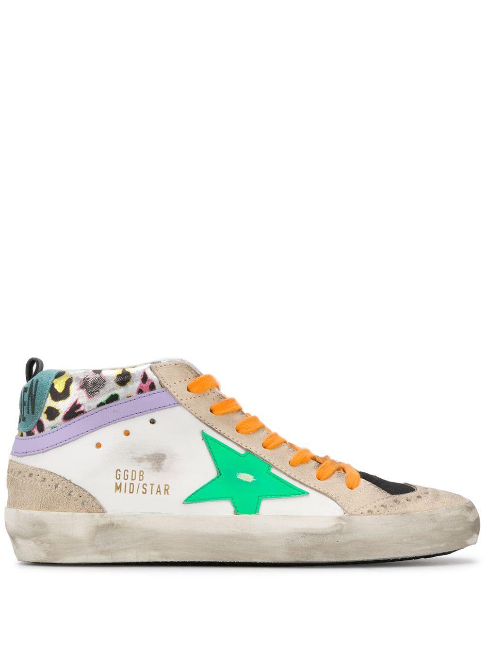 Golden Goose Mid-Star hi-top Sneakers