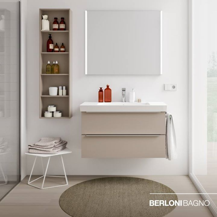 BERLONI BAGNO: Compactness and modernity draw a new style in #Spazia ...