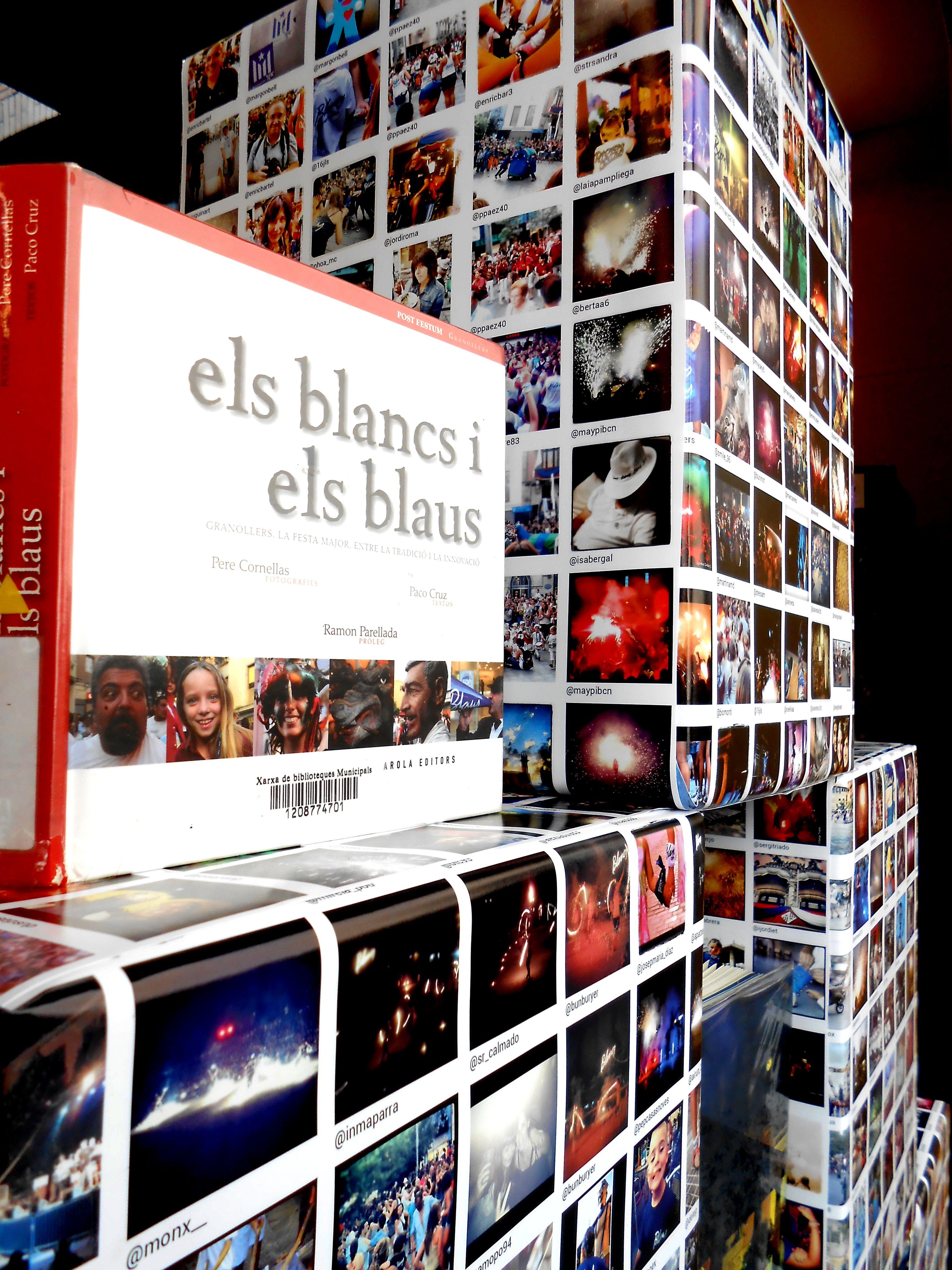 Festa Major Blancs i Blaus. Biblioteca Can Pedrals. Agost 2013.