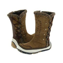 Merrell Puffin High Women S Zip Boots Tan Boots Shoe