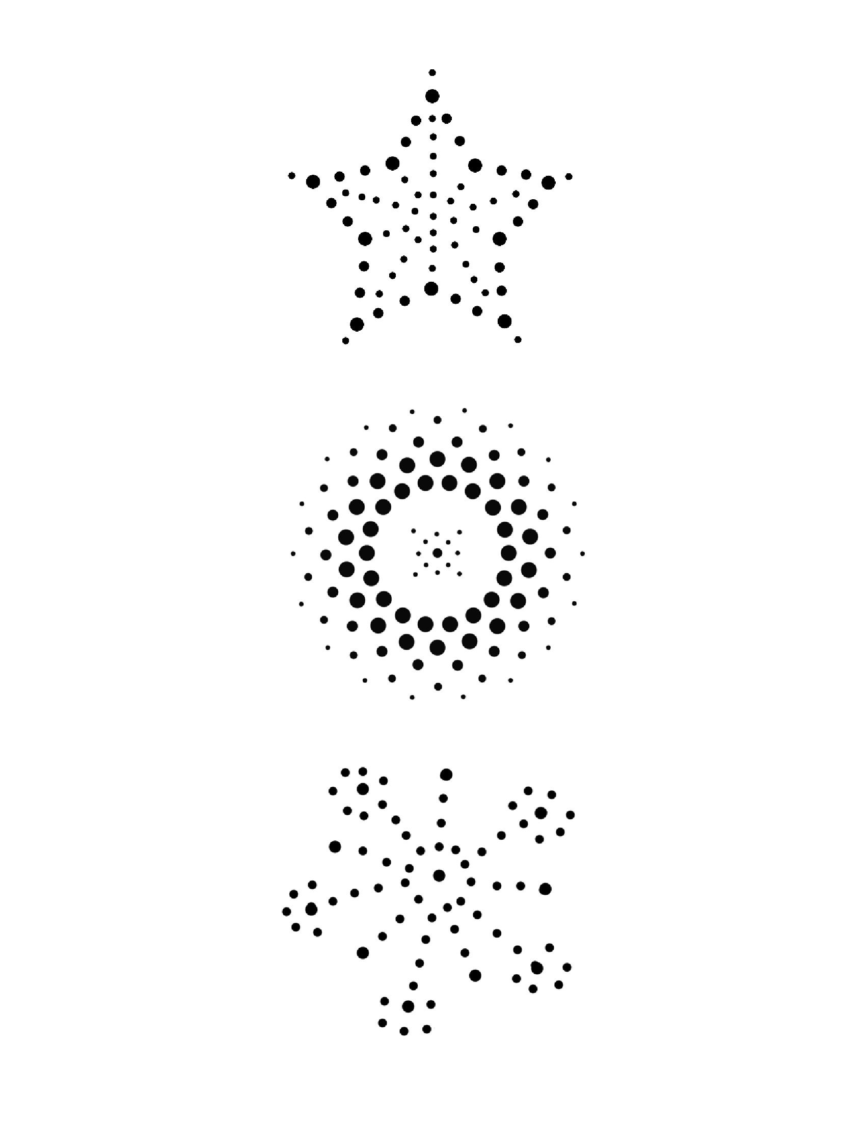 Tin Can Luminarie Pattern Small 01 Tin Can Lanterns Tin Can Art Punched Tin Patterns