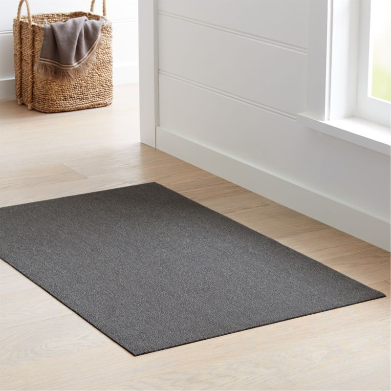 Chilewich 174 Heathered Fog Woven Floormat 36 Quot X60 Quot Rugs On