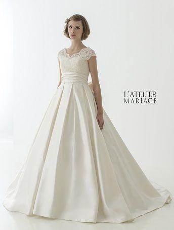 L\u0027ATELIER MARIAGE(ラトリエマリアージュ)WHH022 レンタルウェディングドレス 大阪/東京