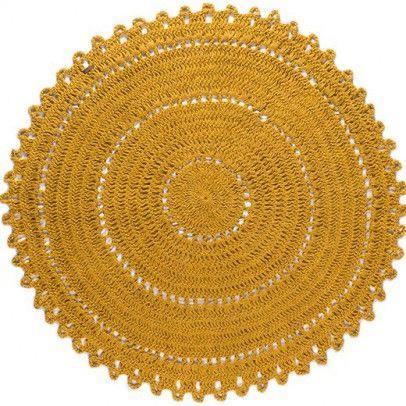 tapis gypsy en jute rond jaune varanassi couleur moutarde tapis rond tapis moutarde et tapis. Black Bedroom Furniture Sets. Home Design Ideas