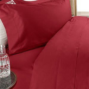 """Luxurious RED Solid / Plain, QUEEN Size. EIGHT (8) Piece DOWN ALTERNATIVE Comforter BED IN A BAG Set. 1000 Thread Count Ultra Soft Single-Ply 100% Egyptian Cotton. INCLUDES 4pc BED SHEET Set, 3pc DUVET SET & DOWN ALTERNATIVE Comforter by Egyptian Cotton Factory Outlet Store. $199.95. 100% Luxury 1000TC long-staple Egyptian Giza Cotton 4pc Sheet Set and 3pc Duvet Set. 1 Flat Sheet (92"""" x 102""""), 1 Fitted Sheet (60"""" x 80"""") and 2 Standard Pillow Cases (20"""" x 30""""). Luxury Duv..."""