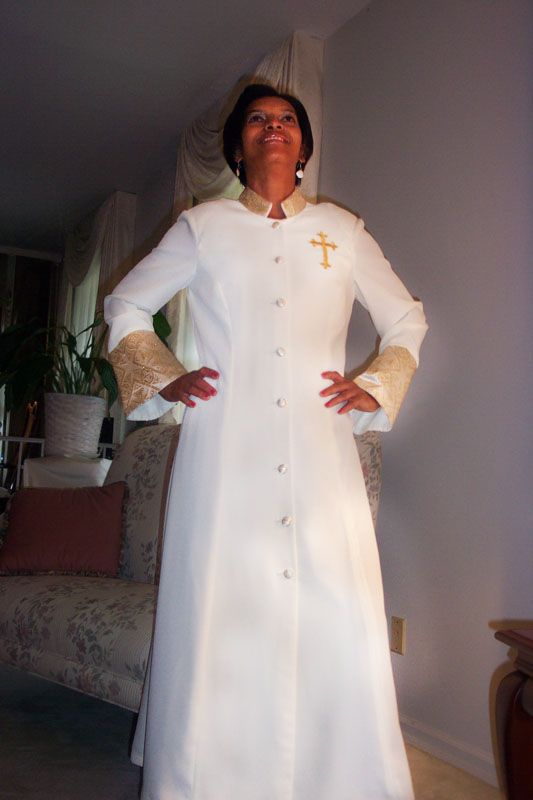 clergy robe for women   Clergy dresses   Pinterest   Robe, Woman and ...