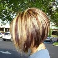 medium angled bob hairstyles with bangs over 40 - Google Search More