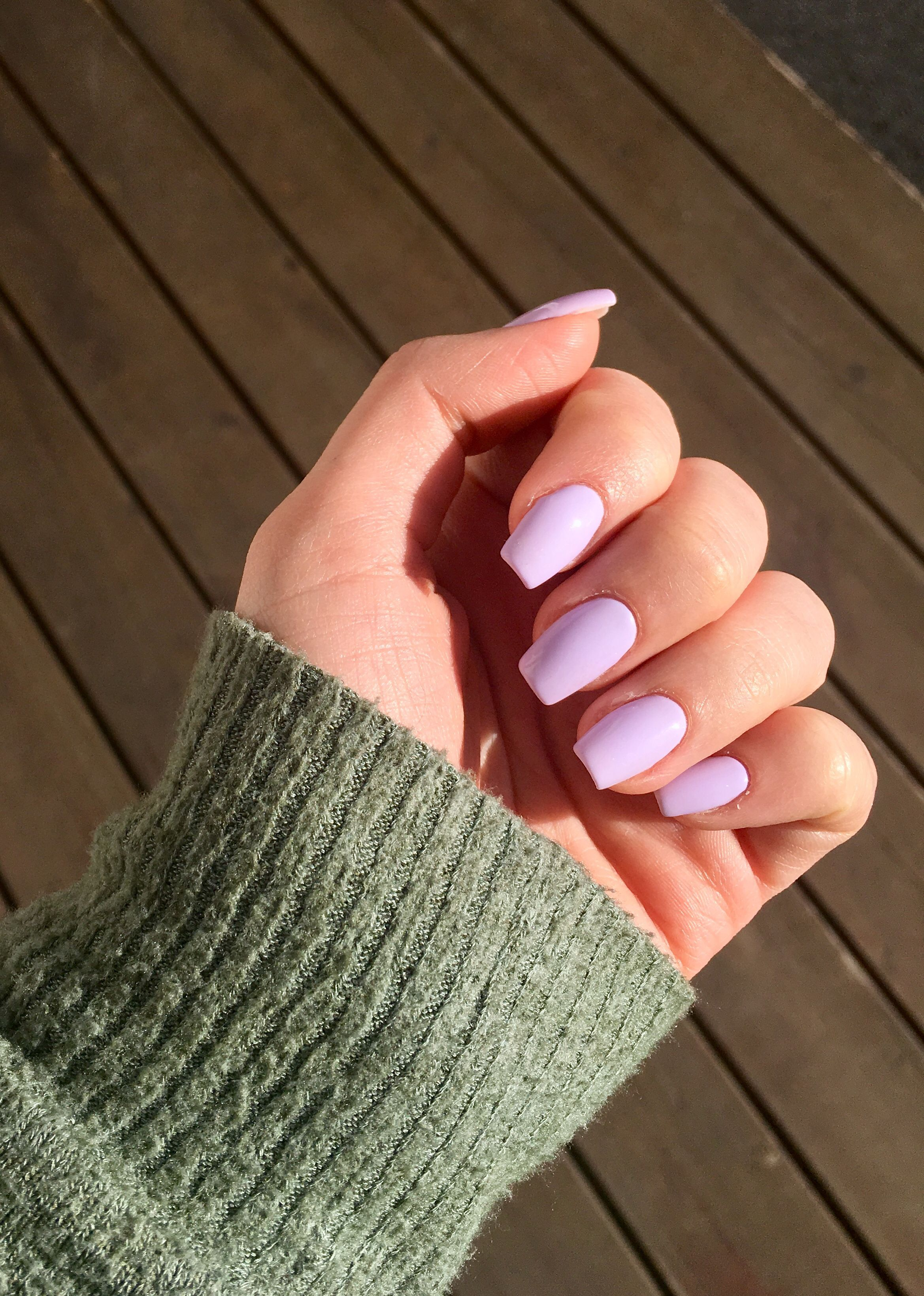 Purple Nails Coffin Light Purple Nails In 2020 Purple Acrylic Nails Light Purple Nails Purple Glitter Nails