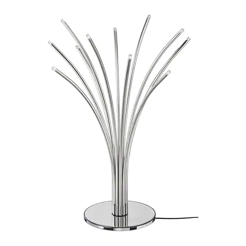 Hovnas Table Lamp Chrome Plated Chrome Plated Black Chrome Plating Table Lamp Lamp
