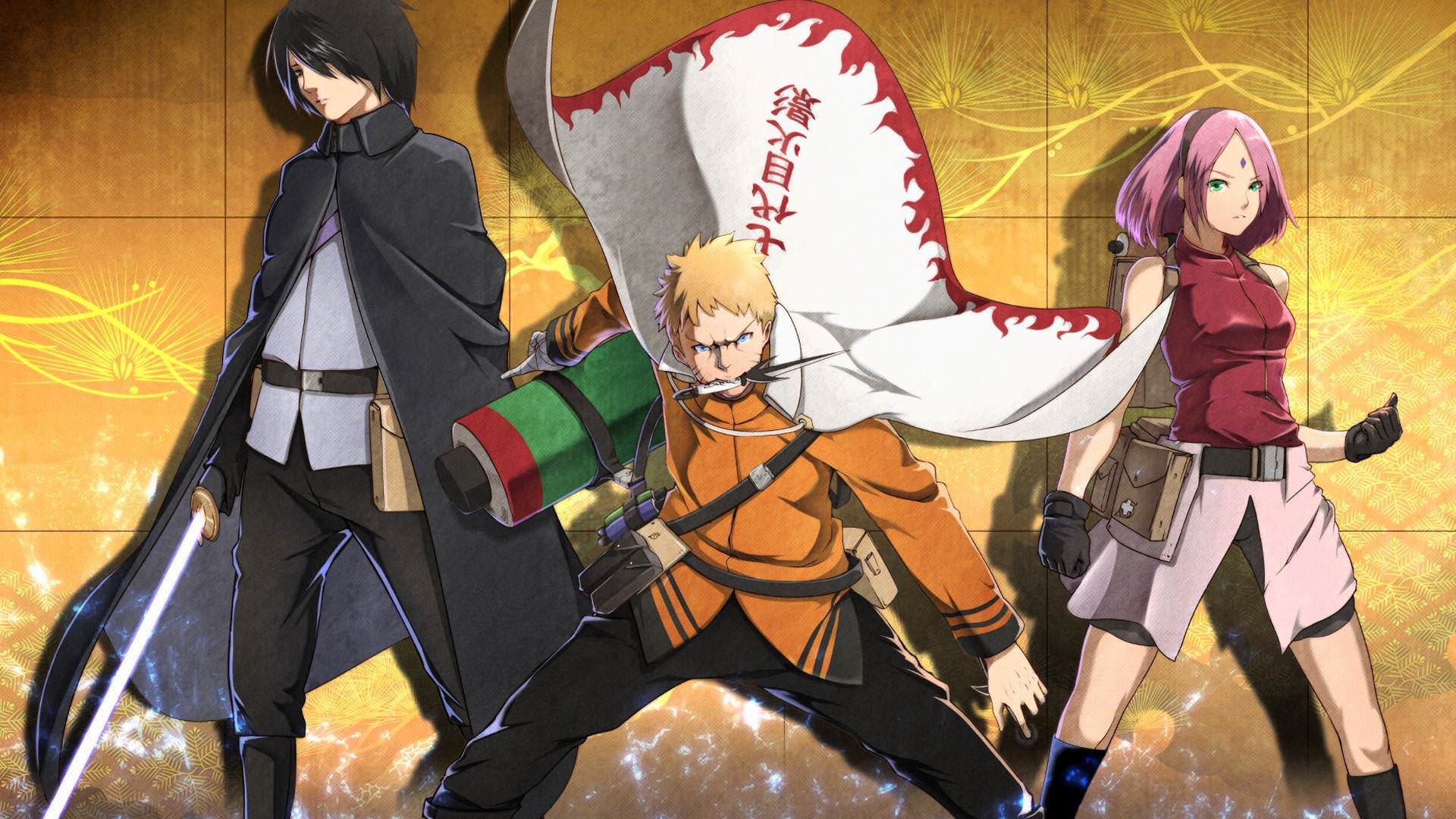 Naruto Sasuke Sakura Wallpaper Madara Wallpaper Nanadaime Hokage