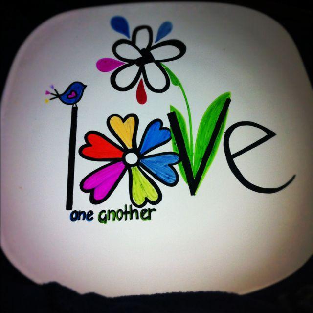 Painted plate $25 with stand & Painted plate $25 with stand | Crafty me? | Pinterest | Paint ...