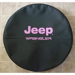 Even Pink On The Spare Tire Cover Jeep Spare Tire Covers Jeep