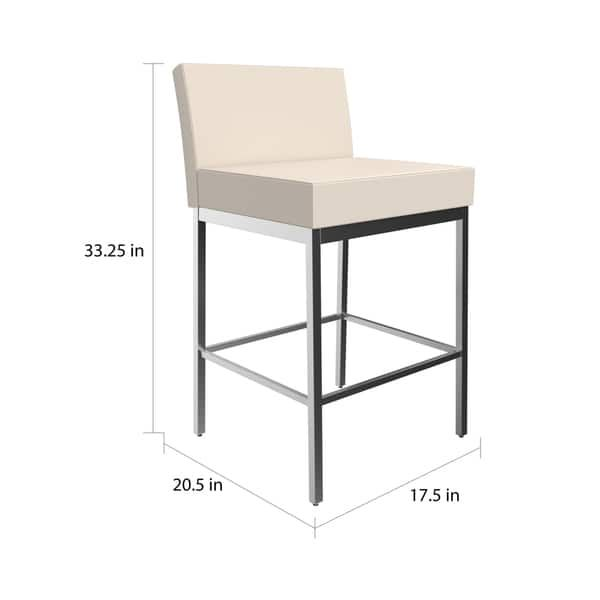 Fine Clay Alder Home High Bridge Fairfield Metal Counter Stool Uwap Interior Chair Design Uwaporg