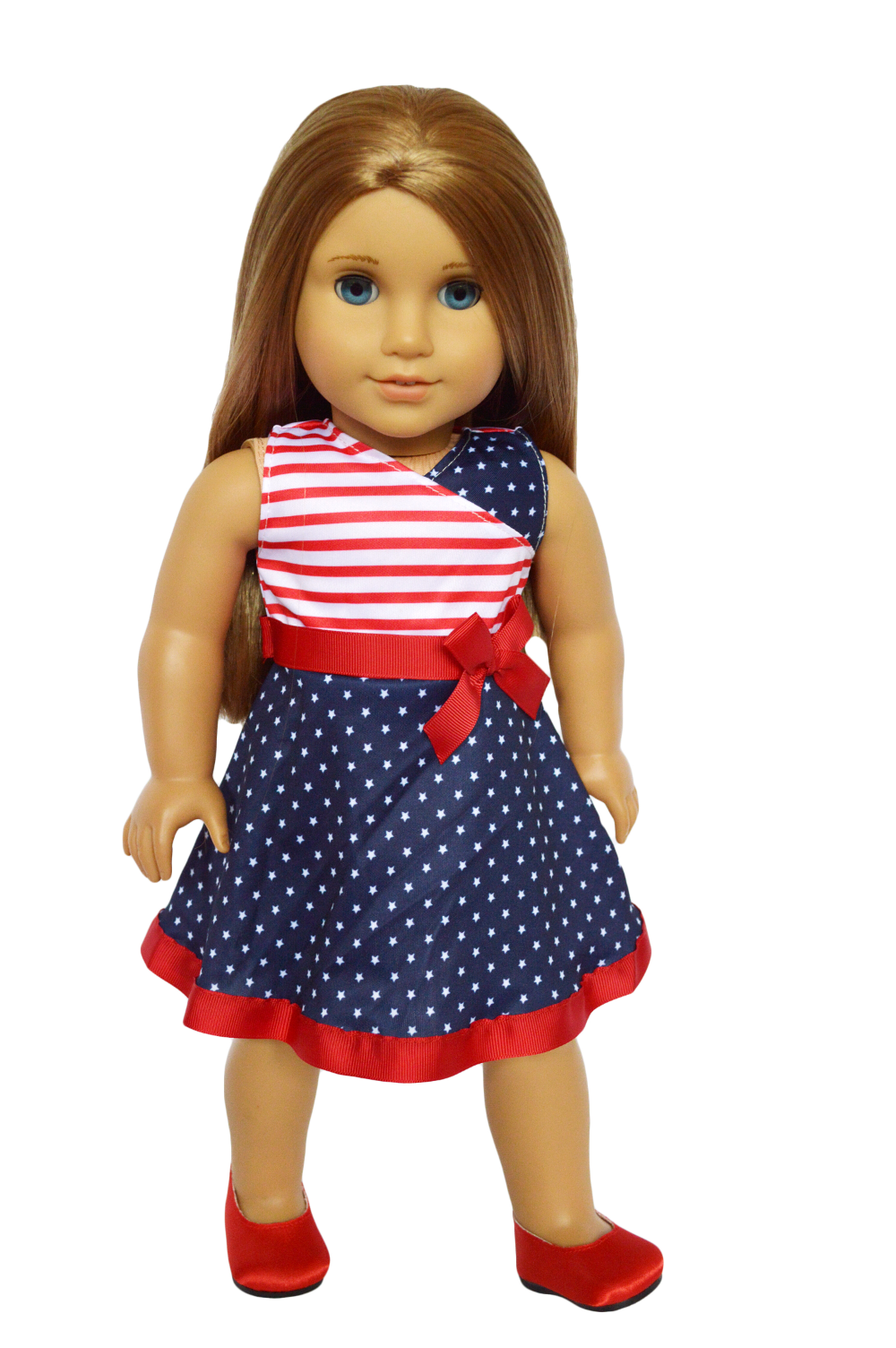 My Brittany's American Pride Dress for American Girl Dolls/18 inch doll clothes/My Dolls Life - Walmart.com