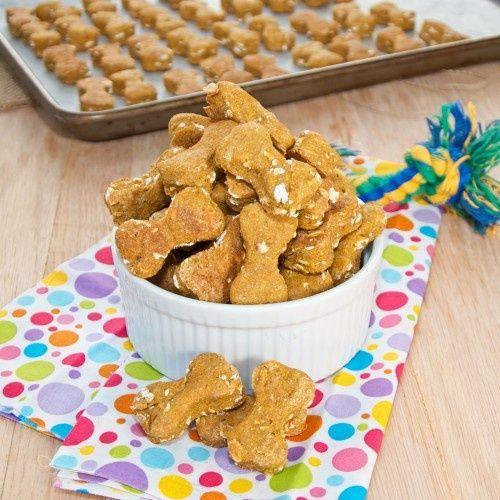 Peanut Butter Pumpkin Dog Treats Sweet Pea's Kitchen