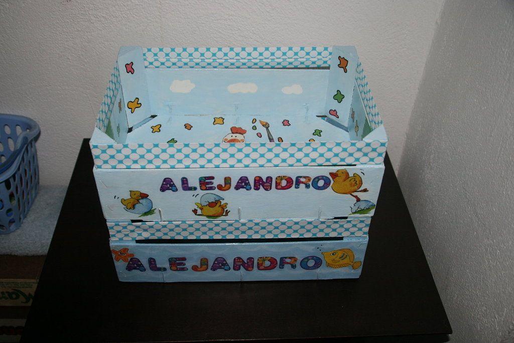 Manualidades con cajas de frutas cajas cajas de fruta caja de frutas decoradas y cajas - Manualidades cajas decoradas ...