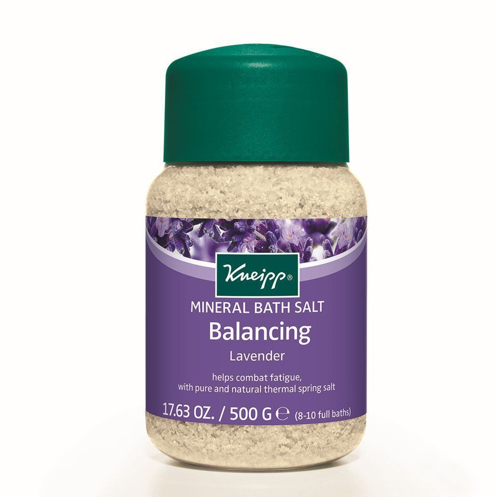 Kneipp Lavender Balancing Bath Salts 500g And Products Salt Organik 500gr