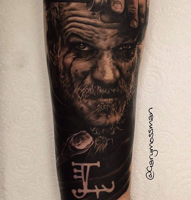 Floki Tattoos: Check Out This Awesome Floki Portrait From The TV Show