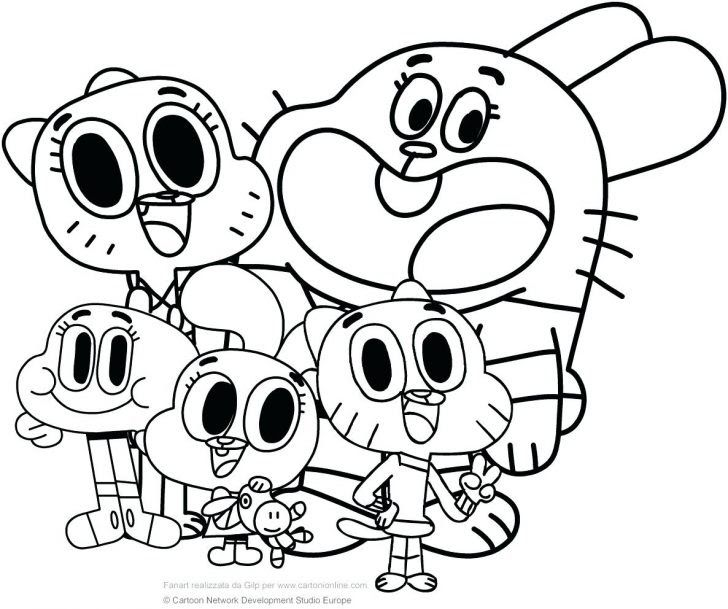 Coloring Pages Ideas 100 Splendi Cartoon Network Coloring Pages Free  Printable Cartoon Net… Cartoon Coloring Pages, Coloring Books, The  Amazing World Of Gumball