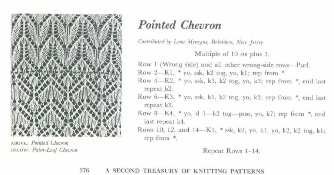 A Second Treasury Of Knitting Patterns By Barbara G Walker Knit