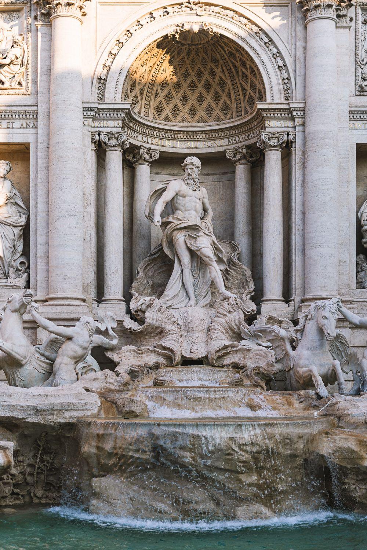 Erlebe Rom In 72 Stunden 10 Tipps Andysparkles De Trevi Brunnen Rom Italien Reisen