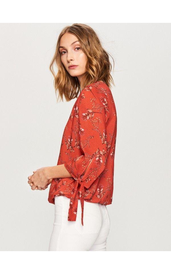 3d8e742406 Virágos felső, Blúzok, piros, RESERVED | ruhák | Pinterest | Floral