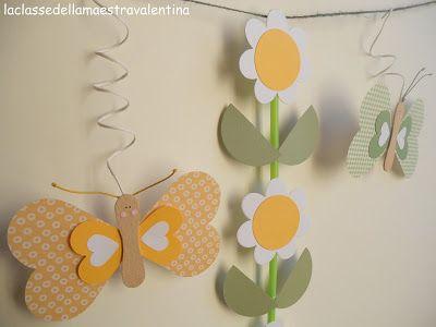 La classe della maestra valentina fiori carta cvije e for La classe della maestra valentina primavera