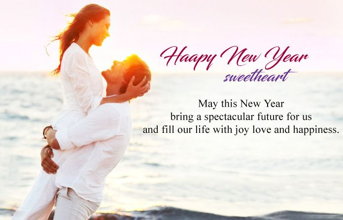 happy new year 2018 wishes messages for sweetheart girlfriend boyfriend lovers happynewyear