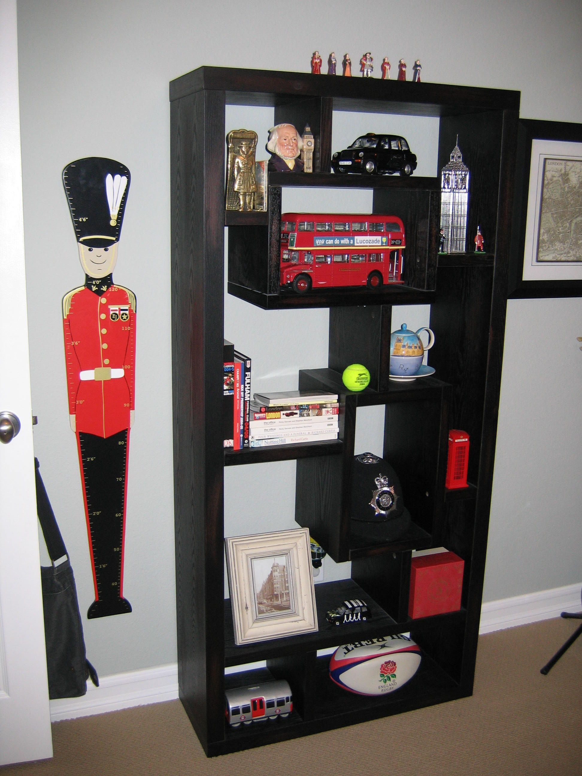 A Created A British Themed Kids Bedroom For My Son