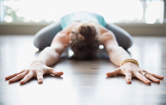 Easy Yoga Poses That Will Help You De-Stress - SELF