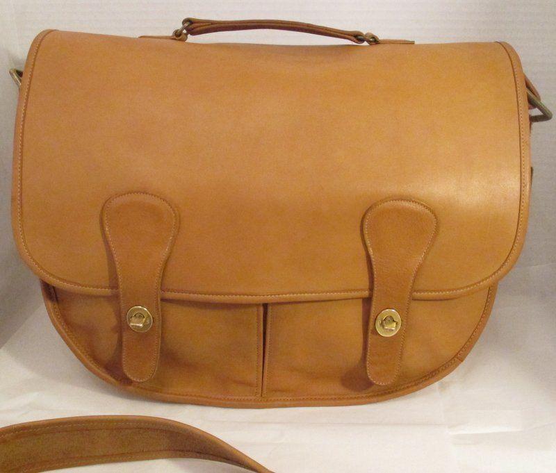 COACH Vintage Camel Leather