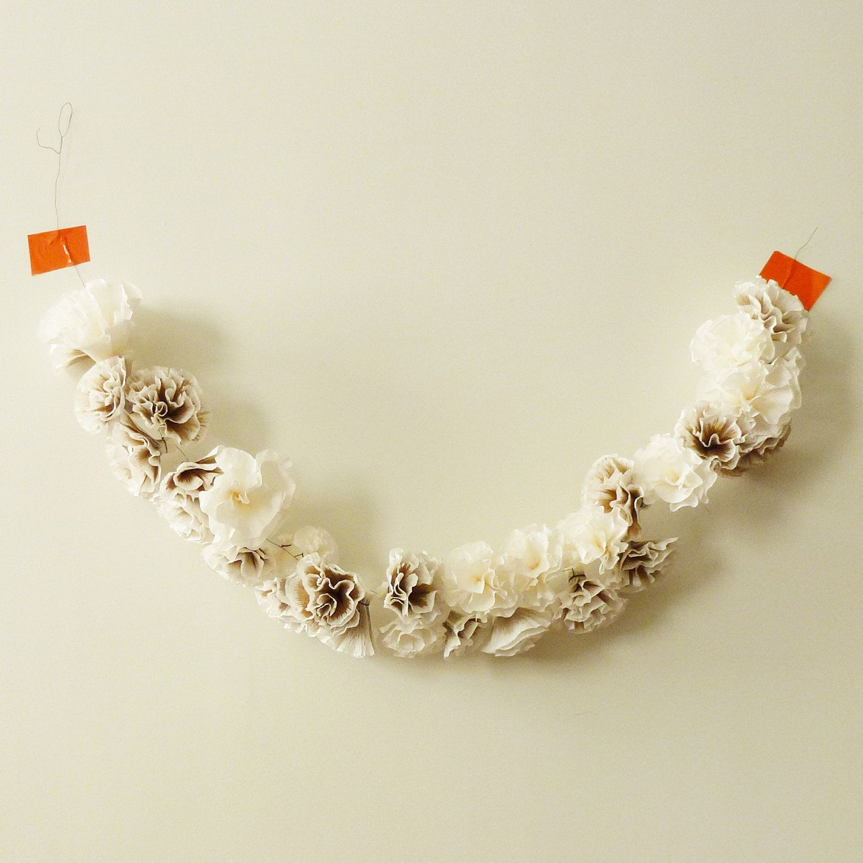 2' Long Flower Garland. $12.00, via Etsy.