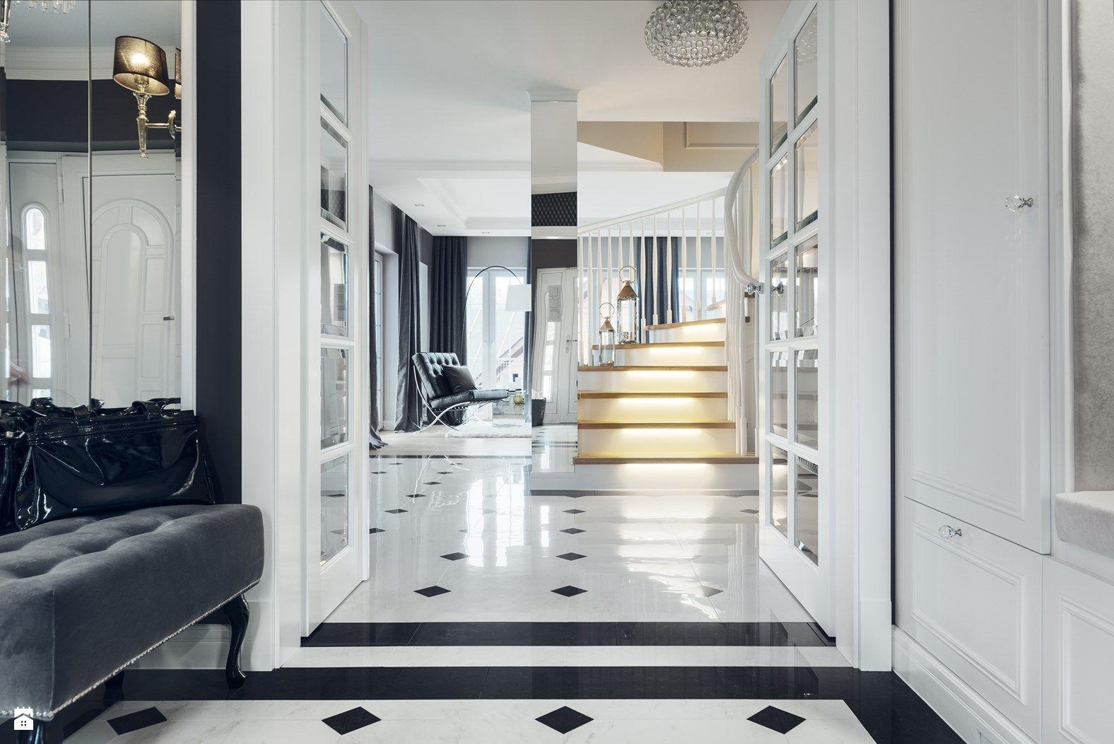 Hol wej ciowy zdj cie od gsg studio interiors design for Modern glamour interior design