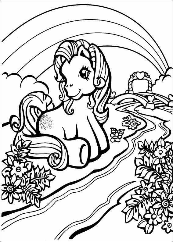 Coloring pages » My little pony Coloring pages | Coloring 4 Kids: My ...