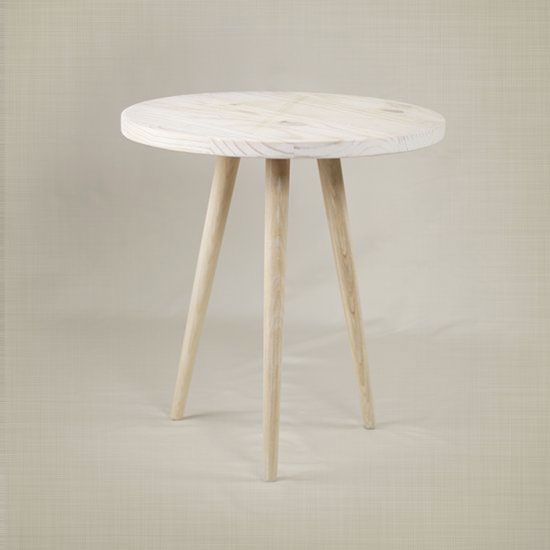 Build this super easy DIY Round Side Table. Building plans ...
