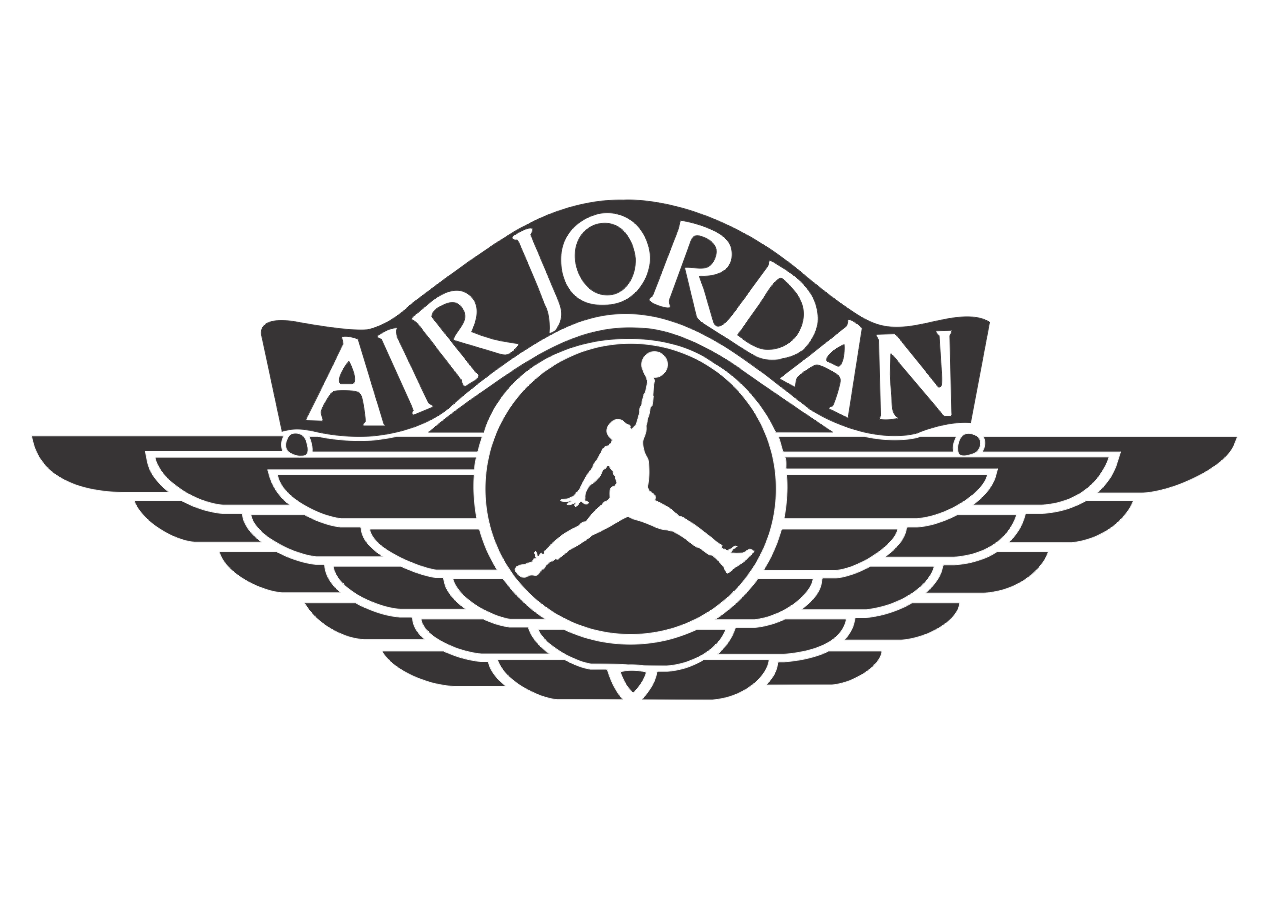Jordan Air Logo Decal Sticker
