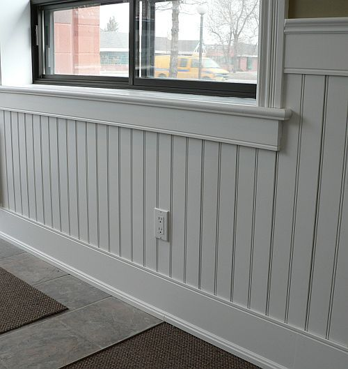 Beadboard Dining Room: Beadboard Is A Great Addition To A Home. The Detailed