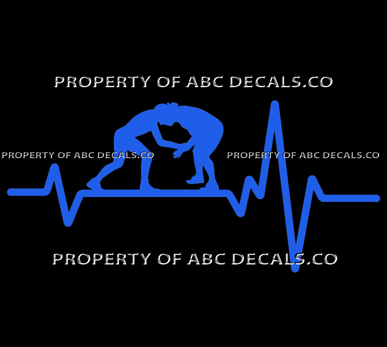 Vrs Heart Beat Line Wrestling Greco Roman Grappling Freestyle Car Vinyl Decal Car Decals Vinyl Vinyl Vinyl Decals [ 1425 x 1590 Pixel ]