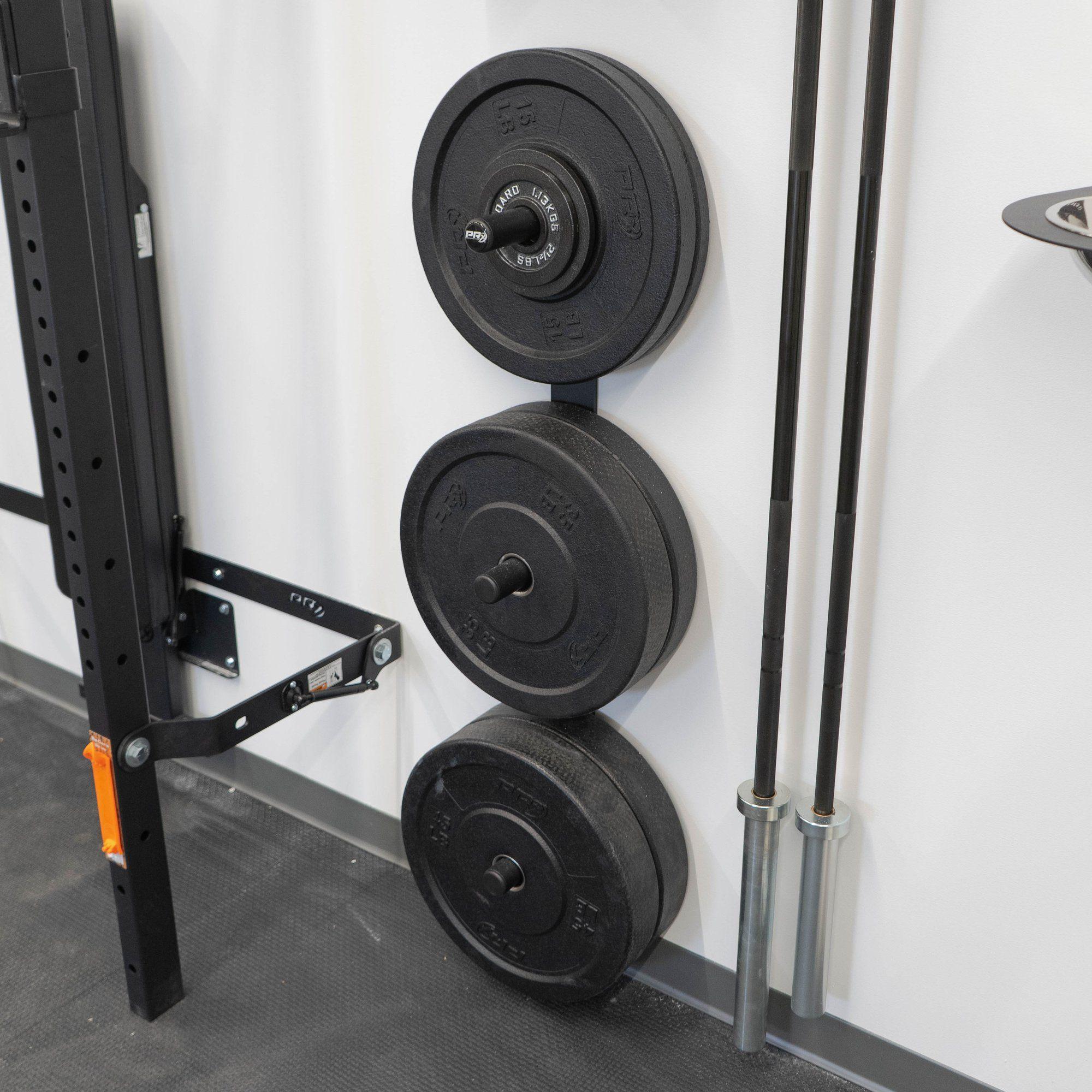 3 Peg Profile Weight Storage In 2020 Plate Storage Weight Rack Bike Rack Garage